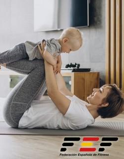 Monitor de Pilates para el posparto